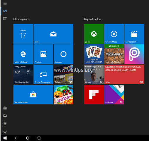 Tablet Modus ausschalten in WIndows 10